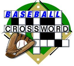 BASEBALL CROSSWORD