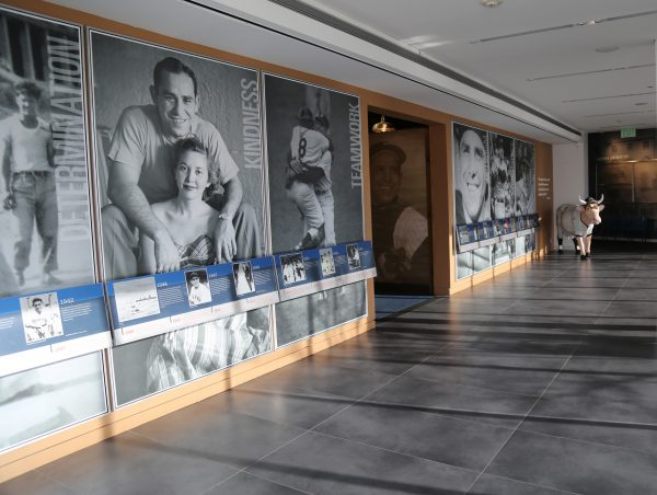 Interior of the Yogi Berra Museum