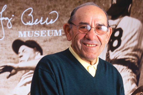 Yogi Berra in Museum