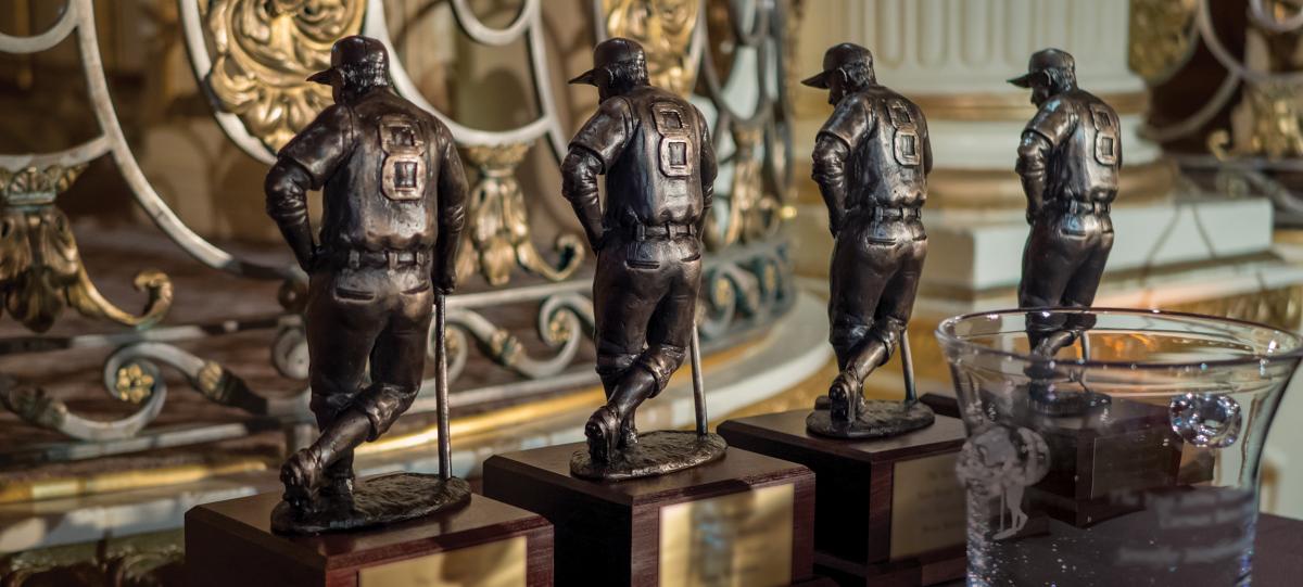 Yogi Berra Awards Trophies