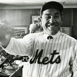 Yogi Berra becomes a Met, 1964