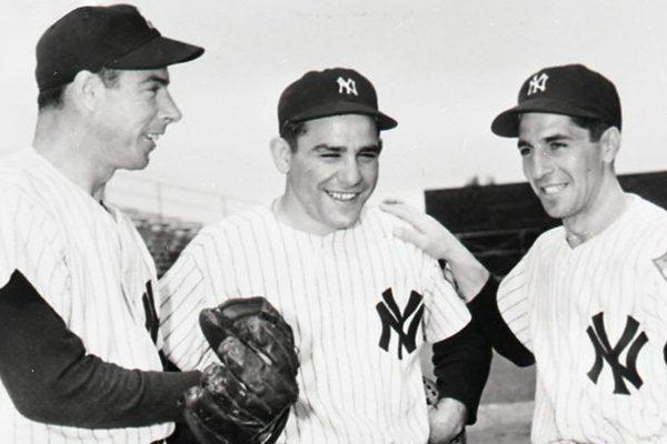 Joe DiMaggio, Yogi Berra, and Phil Rizzuto