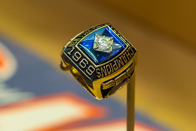 Yogi's 1969 New York Mets World Series championship ring