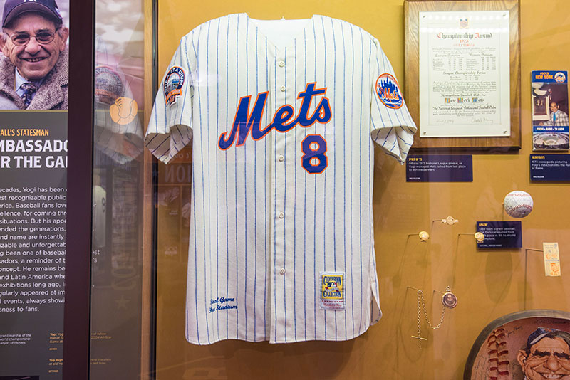 Uniform worn by Yogi during the final game at Shea Stadium, September 28, 2008